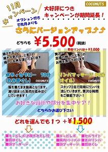 豊橋 ココナッツ 11月 キャンペーン リンパ.jpg